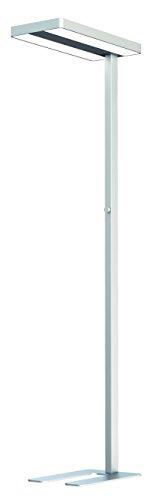 RealLED LED Büro Arbeitsplatz Deckenfluter Stehlampe Office 80 Watt Neutralweiß Idealer...