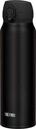 THERMOS Thermosflasche Edelstahl Ultralight, schwarz 750ml, Isolierflasche extrem leicht...