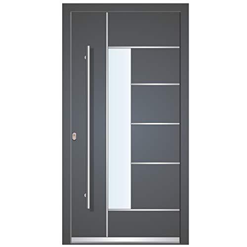 Haustür Welthaus WH75 Standard Aluminium mit Kunststoff LA40 Dortmund Tür 1000x2100mm...