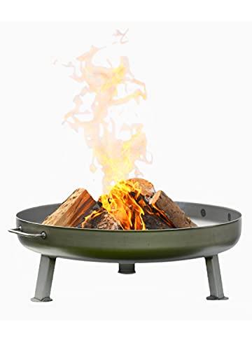 Czaja Feuerschalen® Feuerschale Bonn Ø 80 cm - mit Wasserablaufbohrung - Feuerschalen...