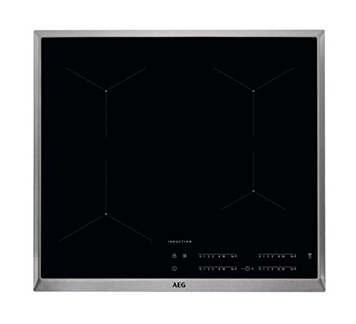 AEG IKB64431XB Autarkes Kochfeld / Herdplatte mit Touchscreen, Topferkennung &...