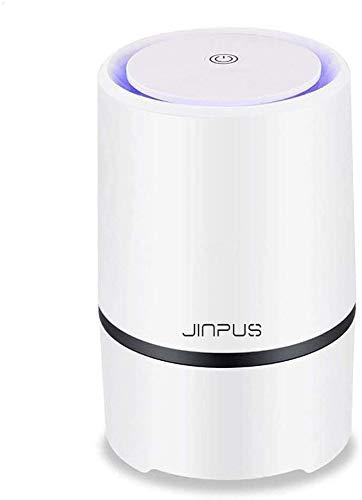 JINPUS Luftreiniger Allergie mit True HEPA Filter, Desktop Luftreiniger Staub Ionisator...
