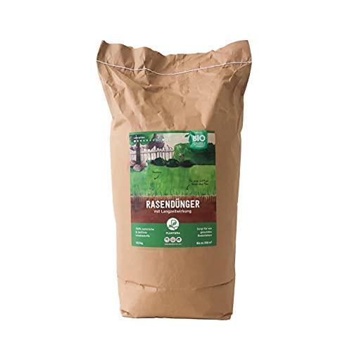 Plantura Bio-Rasendünger, organisch, 10,5 kg in Papierverpackung, 3 Monate...