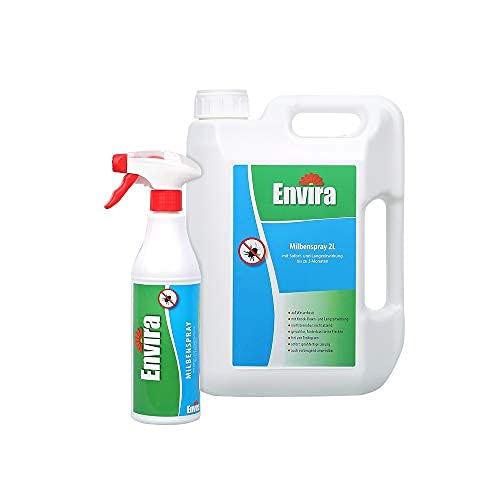 Envira Milben-Spray - Anti-Milben-Mittel Mit Langzeitwirkung - Geruchlos & Auf Wasserbasis...