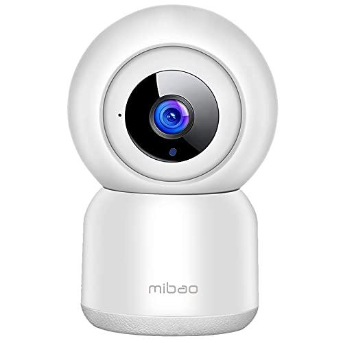WLAN IP Kamera Überwachungskamera 1080P,IP Kamera WiFi Mibao Nachtsicht 2 Wege-Audio...