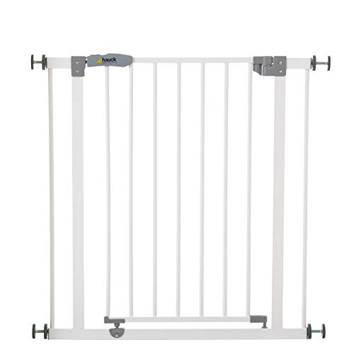 Hauck Türschutzgitter / Treppenschutzgitter für Kinder Open N Stop Safety Gate / ohne...