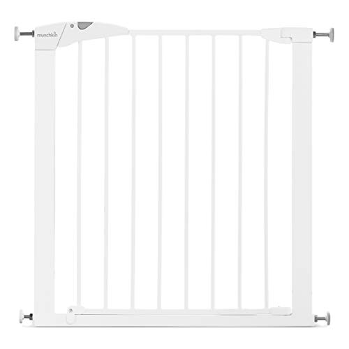 Munchkin Maxi-Secure Tür-/Treppenschutzgitter mit Druckbefestigung, Türschutzgitter für...