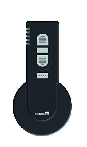 Schellenberg 20020 Smart Home Funk-Handsender 5-Kanal mit 868,4 MHz schwarz –...