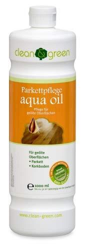 clean & green Parkettpflege aqua oil 1,0 l