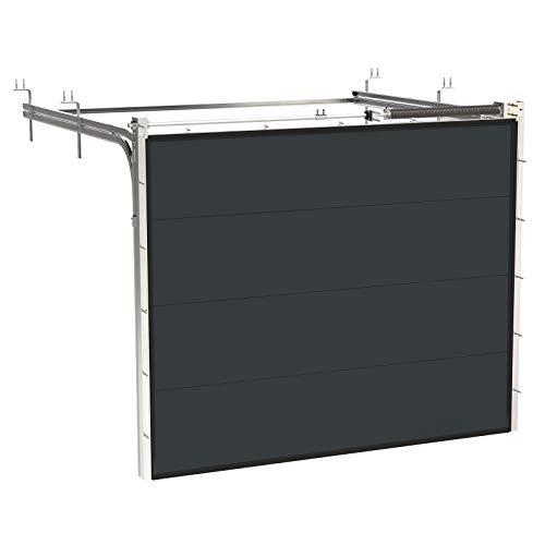 HORI® Garagentor mit Antrieb und Handsender I Sektionaltor gedämmt I I I Größe 2375 mm...