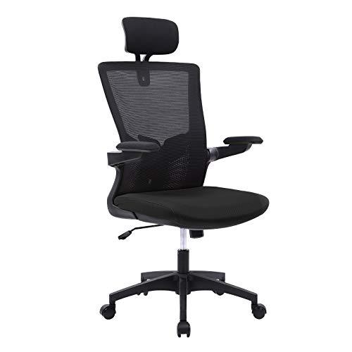 Bosmiller Ergonomische Bürostühle Atmungsaktiver Bürostuhl aus Mesh mit hoher...