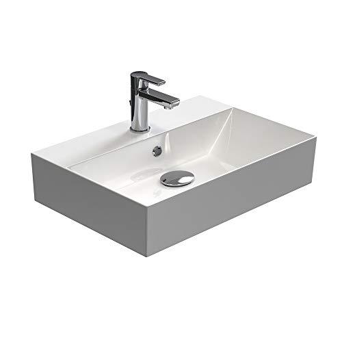 Aqua Bagno | Design Waschbecken Hängewaschbecken Aufsatzwaschbecken Waschtisch aus...