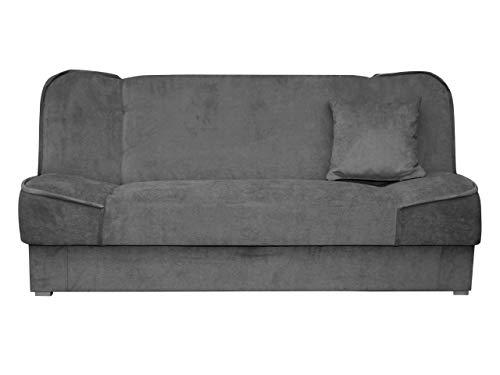 Mirjan24 Schlafsofa Gemini mit Bettkasten, 3 Sitzer Sofa, Couch mit Schlaffunktion,...