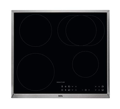 AEG IKB6431AXB Autarkes Kochfeld / Herdplatte mit Touchscreen, Topferkennung &...