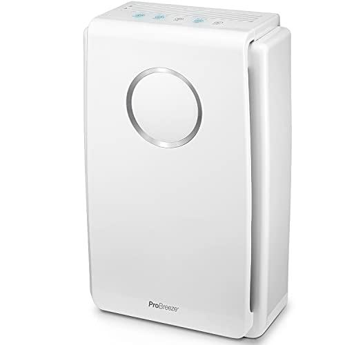 Luftreiniger von Pro Breeze mit True HEPA Luftfilter für Allergiker, Air Purifier für...