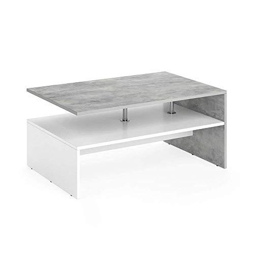 Vicco Couchtisch Amato Wohnzimmertisch Beistelltisch Holztisch Kaffeetisch Tisch 90 x 60...