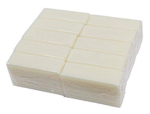 Wasserrose® 10x100g=1kg KERNSEIFE DIY SEIFE REIN OHNE DUFT OHNE FARBSTOFFE OHNE PALMÖL...
