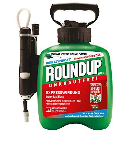 Roundup Express Fertigmischung im Drucksprüher zur Bekämpfung von Unkräutern und...