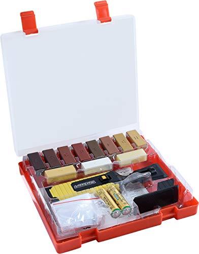 Werkzeyt Holz-Reparatur-Set 17teilig -11 unterschiedliche Farbtöne - Inkl....