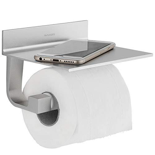 Wangel Toilettenpapierhalter ohne Bohren, Patentierter Kleber + Selbstklebender Kleber,...