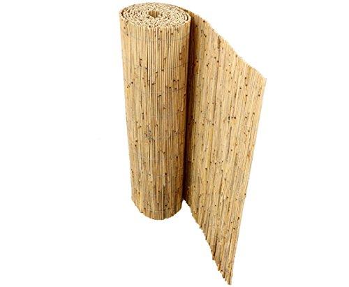 bambus-discount.com Schilfrohrmatten Premium für Balkon, Beach, 90 hoch x 600cm breit,...
