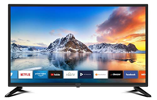 DYON Smart 32 XT 80 cm (32 Zoll) Fernseher (HD Smart TV, HD Triple Tuner (DVB-C/-S2/-T2),...