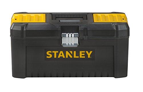 Stanley Werkzeugbox / Werkzeugkasten (16', 20x19,5x41cm, Werkzeugkoffer mit...