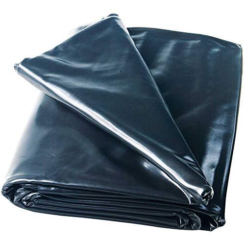 Heissner Teichfolie PVC schwarz, Stärke 0,5 mm von 6-48 m² 4 x 4 m