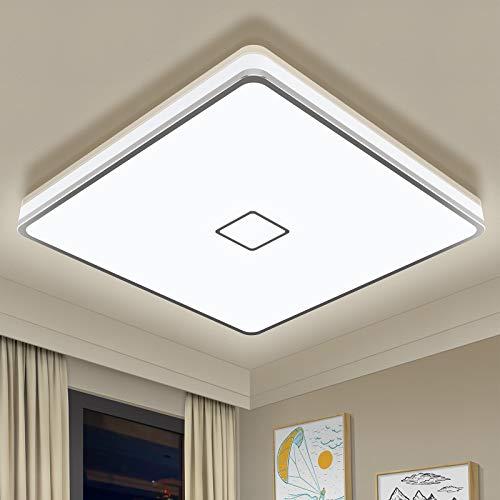 Badlampe 24W LED Deckenleuchte Bad Airand LED Deckenlampe IP44 Wasserdicht Badezimmer...
