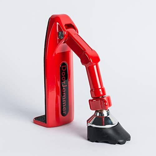 kh security Einbruchschutz Manuell (DoorJammer), rot, 370169