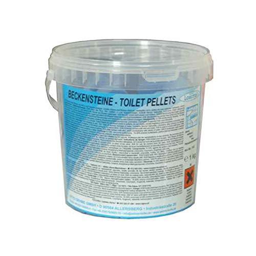 Lorito Urinalsteine Beckensteine 345 Ocean, Lufterfrischer zum Einlegen für Toilette, WC,...