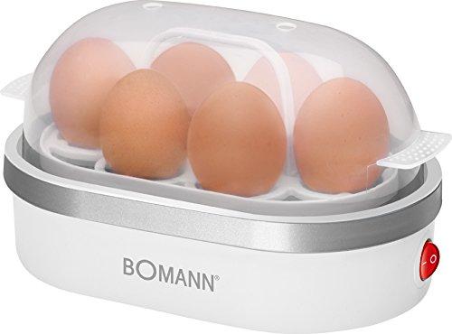 Bomann EK 5022 CB Eierkocher, Zubereitung von bis zu 6 Eiern, akkustisches Signal...