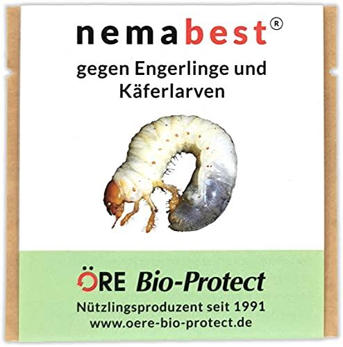 nemabest® HB Nematoden für 100m² (50 Mio.) gegen Engerlinge und Käferlarven vom...