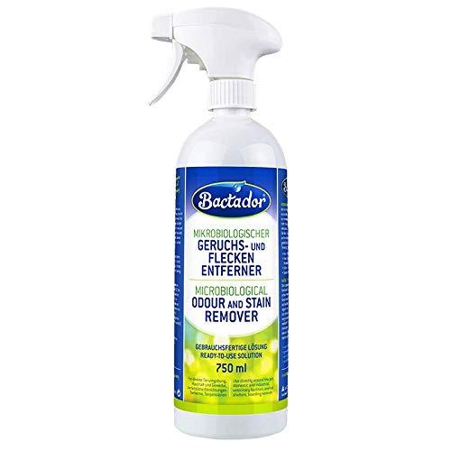 Bactador Geruchsentferner und Fleckenentferner Spray 750ml - Mikrobiologischer...