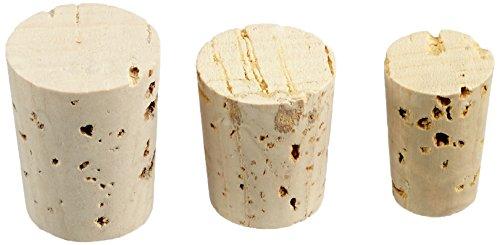 RAYHER Spitzkorken für Flacons und Flaschen, Beutel mit 36 Stück in 3 verschiedenen...