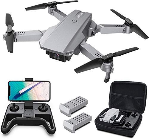 Tomzon D25 4K Drohne mit Kamera Faltbare FPV Drohne für Erwachsene, 2 Akkus,...
