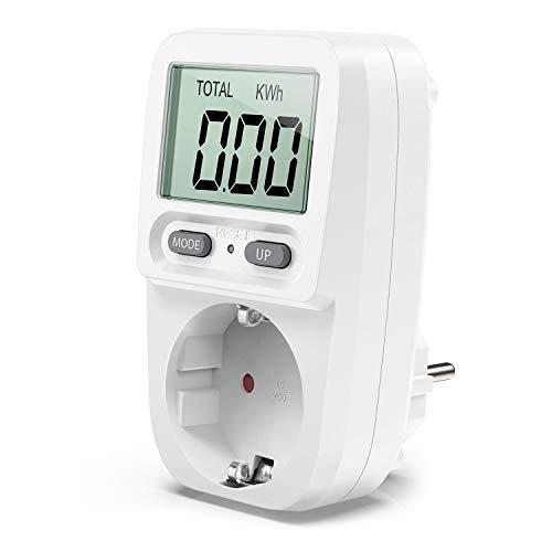 Zaeel Energiekostenmessgerät Stromkostenmessgerät Leistungsmessgerät,...