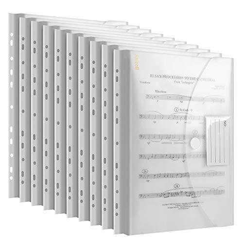 Dokumententasche A4, dreidimensionale A4 Dokumentenmappe Sammelmappen 30 Pack für...