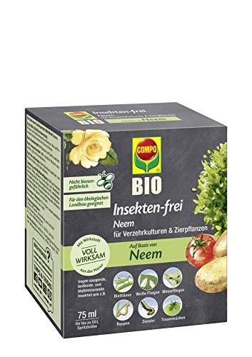 Compo Bio Insekten-frei Neem, Bekämpfung von Schädlingen (u.a. Buchsbaumzünsler) an...