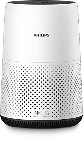 Philips AC0820/10 Luftreiniger entfernt bis zu 99,9% der Viren und Aerosole* aus der Luft,...