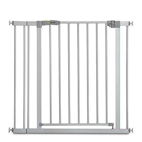 Hauck Türschutzgitter / Treppenschutzgitter für Kinder Stop N Safe 2 Safety Gate inkl. 9...