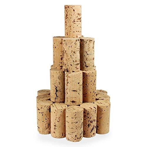 Tuuters 100 Bastelkorken, Medizin-korken, Weinkorken, Korken Länge = 45 mm, ⌀ = 24 mm...