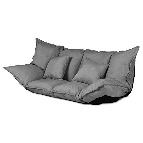 Ribelli 2 Sitzer Hikui Futon Schlafsofa im Japanischen Stil Sofa mit Schlaffunktion 100 x...