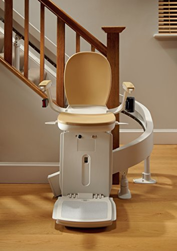 gebrauchter Kurven-Treppenlift inkl. Lieferung & Montage für links oder rechts, mit einer...