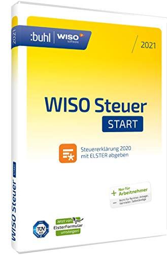 WISO Steuer-Start 2021 (für Steuerjahr 2020 | Standard Verpackung) jetzt mit...