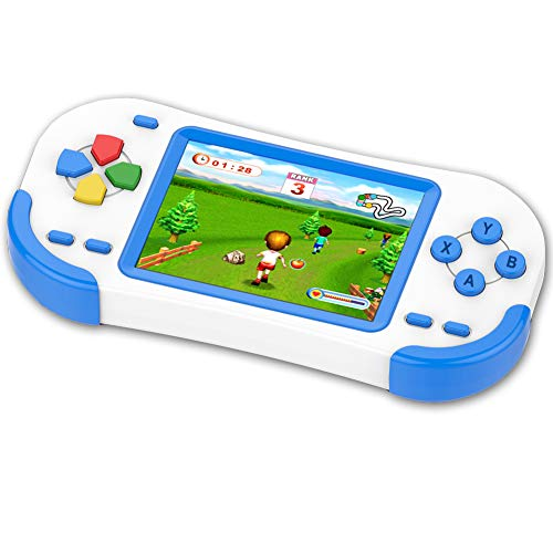 ZHISHAN 16 Bit Handheld Spielkonsole Retro Tragbare Spiele Konsolen inkl. 220 Klassische...