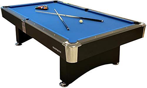 Buckshot Billardtisch 7ft Manhattan - 213x122x80 cm - 7 Fuß Pool Billard - Kugelrücklauf...