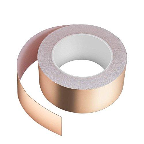 Kupferband 30M x 50mm, Vegena Kupferfolienband EMI Copper Foil Tape Abschirmband...