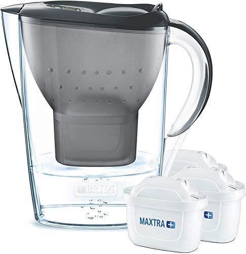 Brita Wasserfilter Starterpaket Marella, inkl. 3 Maxtra+ Filterkartuschen graphit