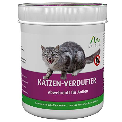 Gardigo Katzen Verdufter Granulat für Haus, Garten | Katzenabwehr, Katzenschreck...